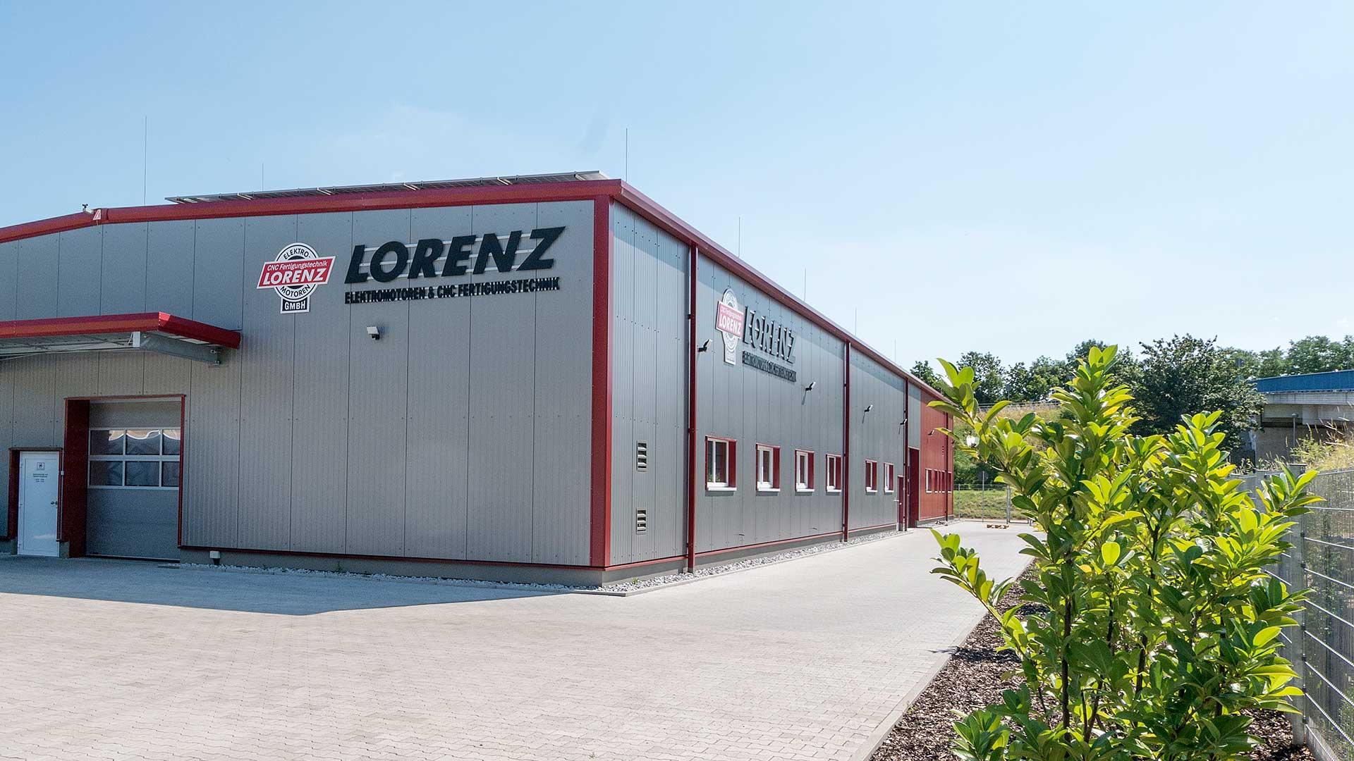 Werkastatt außenbereich Lorenz Elektromotoren