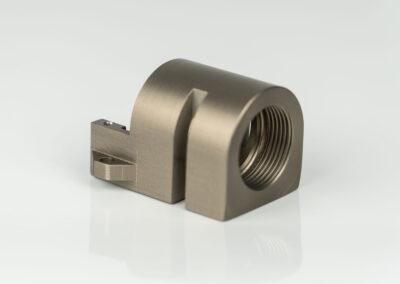 CNC-Fräsen_Baugruppen- Komponente_Aluminium_Hartcoatiert_Kernkraftwerk